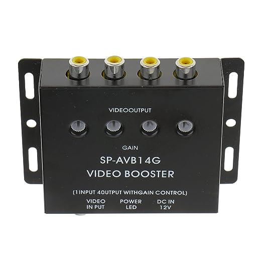 2 opinioni per Selettore AV a 4 VIE Video RCA AV Amplificatore Splitter Richiamo (1in/4out) per