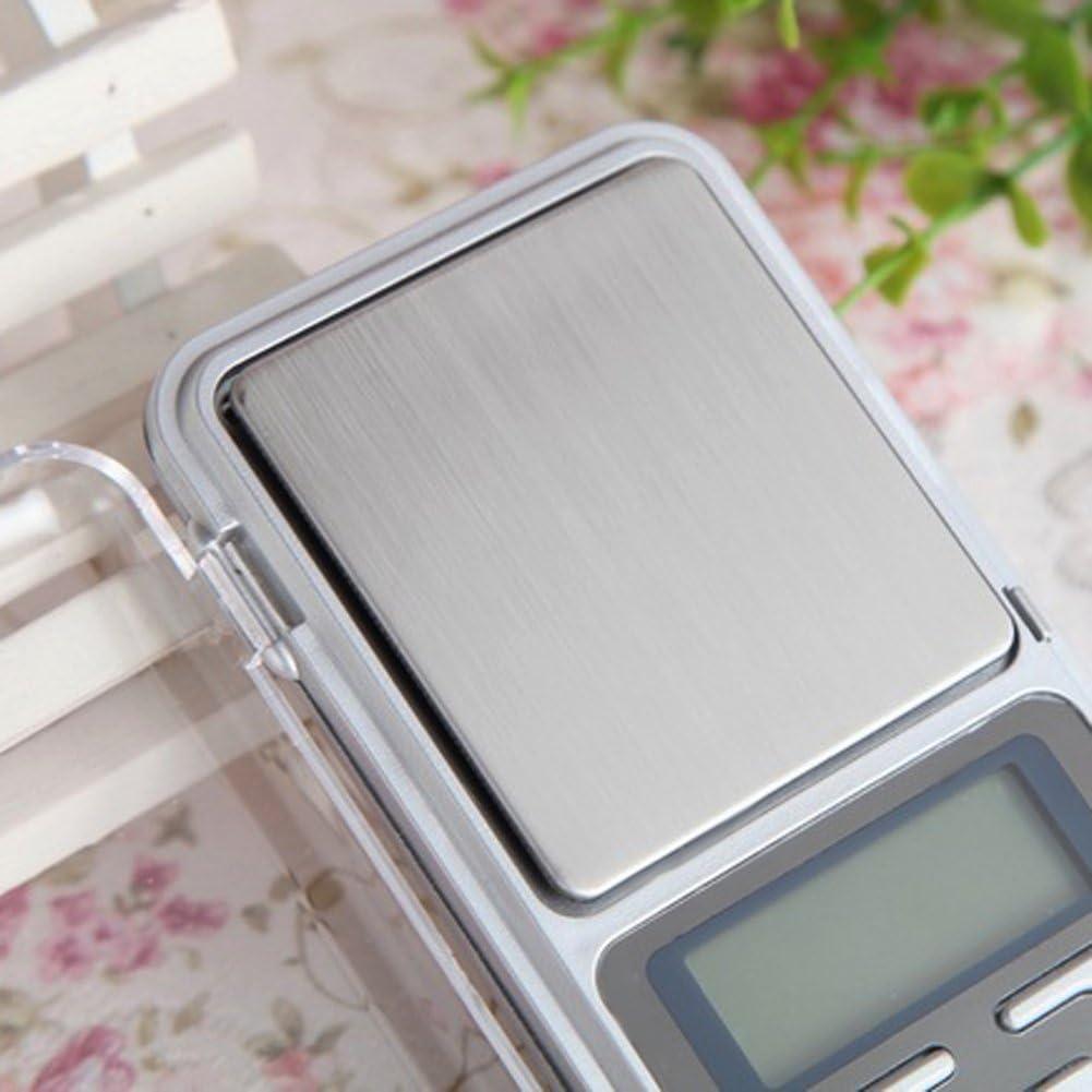 Demiawaking 200g x 0.01g Bilancia Digitale di Alta Precisione Mini Bilance Elettroniche per Gioielli Oro Argento