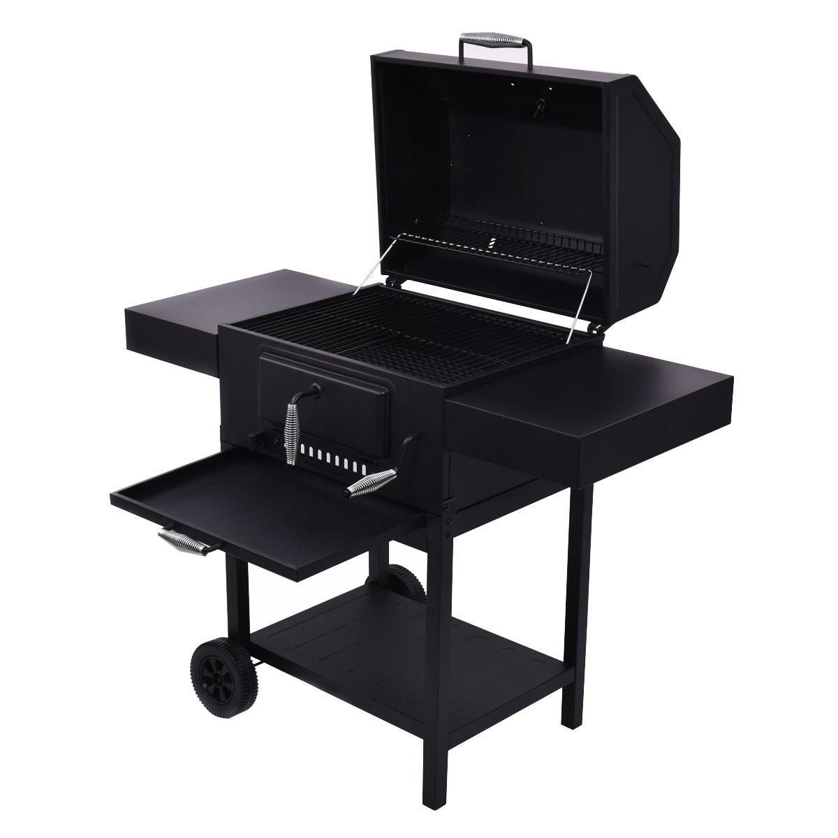 amazon com giantex outdoor charcoal bbq grill backyard barbecue