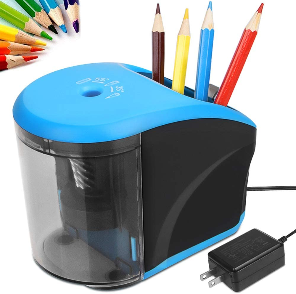 Pencil Sharpener with Pencil Holder