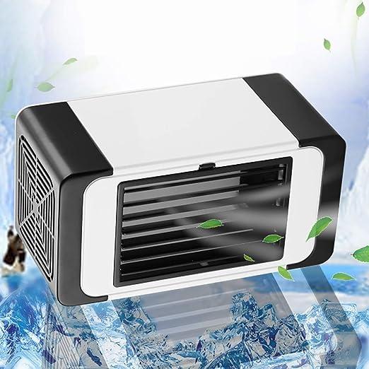 Mini Aire Acondicionado Móvil 3 Velocidades Ventilador USB ...