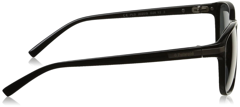 Polaroid Gafas de sol 2020/S Y2_D28 (55 mm) NERO LUCIDO, 55 ...