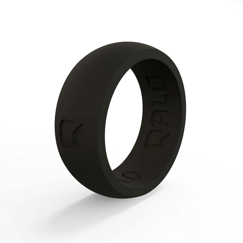 【人気ショップが最安値挑戦!】 QALO-メンズシリコンリング(品質は Silicone、陸上競技、愛とアウトドア)は16-25のサイズを B076Q45269 Q2X- Black - Silicone - Silicone Ring 14 14|Q2X- Black - Silicone Ring, 柔らかい:9287bdd9 --- arianechie.dominiotemporario.com