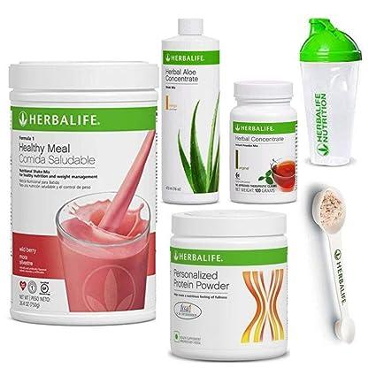 Amazon.com: Herbalife Shake Healthy Meal Kit | Wild Berry ...