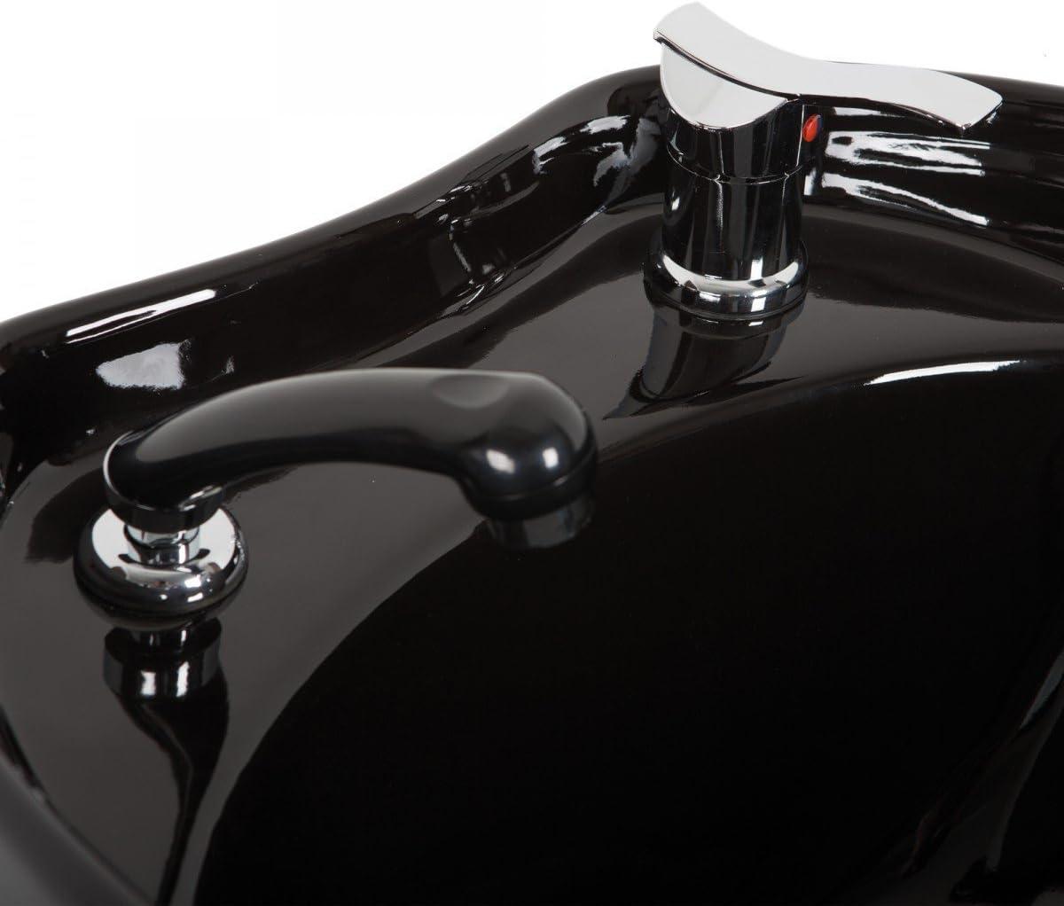 Staboos Mischbatterie und Handbrause Wasserhahn f/ür Friseur Waschsessel oder R/ückw/ärtswaschanlag