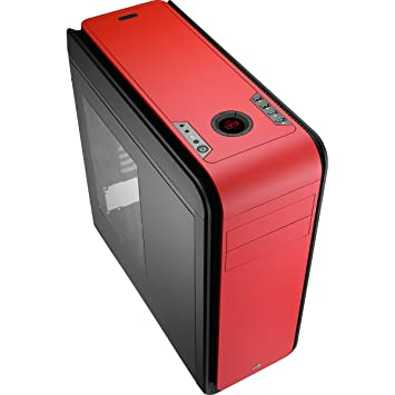 Aerocool Ds 200 Gaming Pc Tower Case See Through Side Window