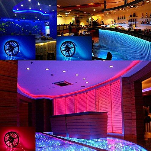 le waterproof 12v flexible rgb led strip light. Black Bedroom Furniture Sets. Home Design Ideas