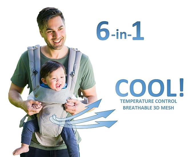 1 opinioni per Portantina per Bebè Ergonomica 360 – Tracolla per Bambino Tutte le Stagioni – 6