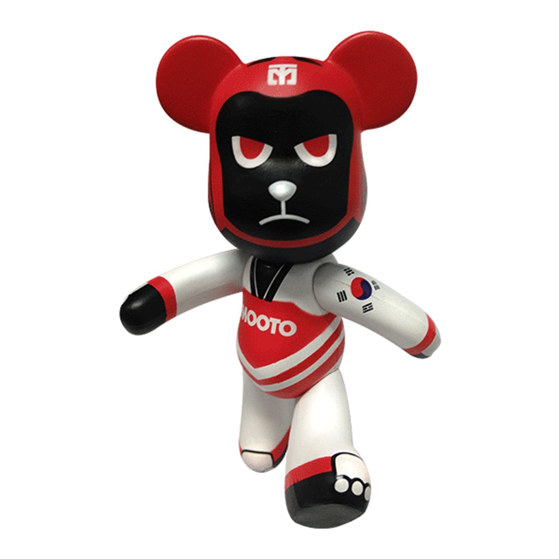 Mooto Korea Taewwondo Portachiavi Bears 4 Type for Bag Uniform (2. Sparing)