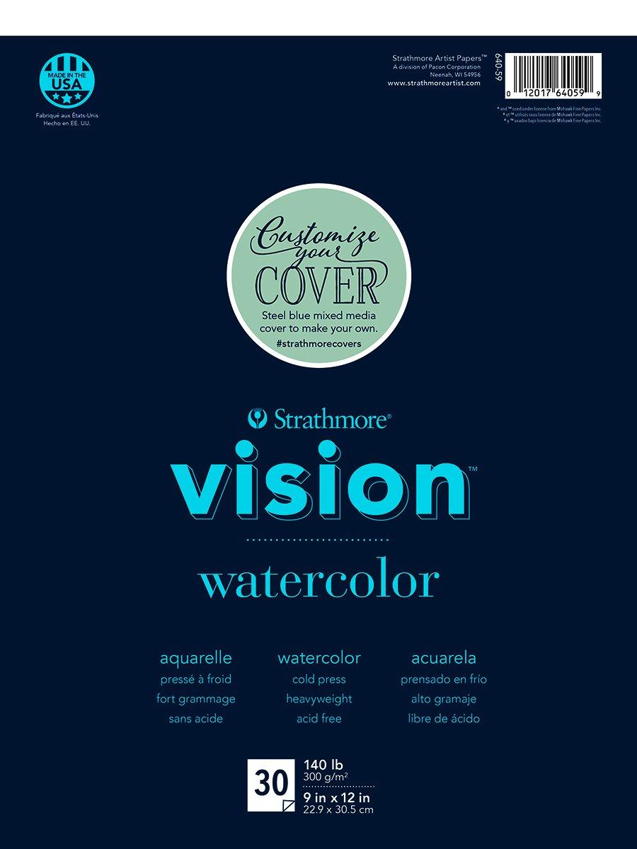 Strathmore (640-59 Vision Watercolor Pad