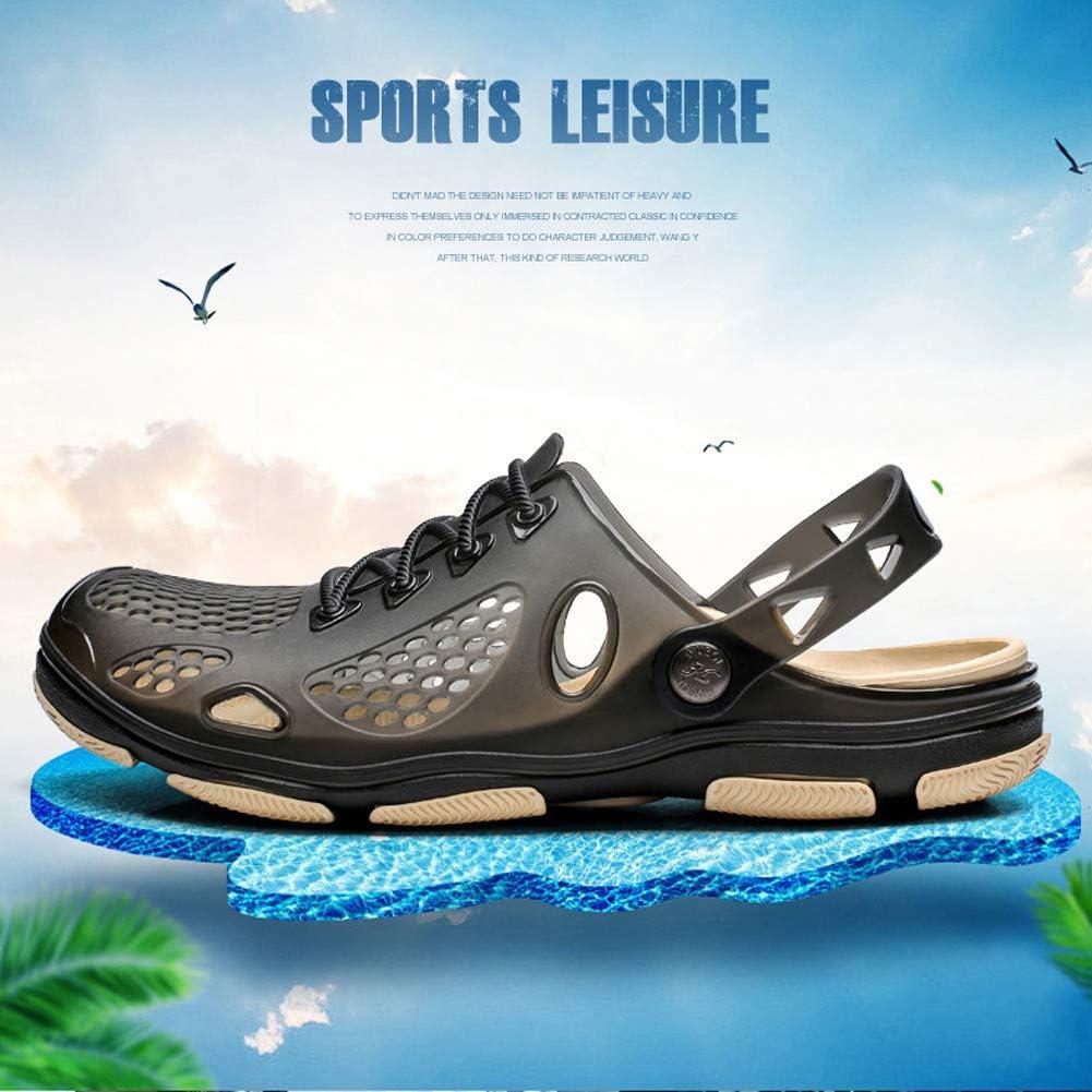 Sabots de Jardin pour Hommes L/éger Non Slip Beach Yard Pool Shower Sandals D/ét/é