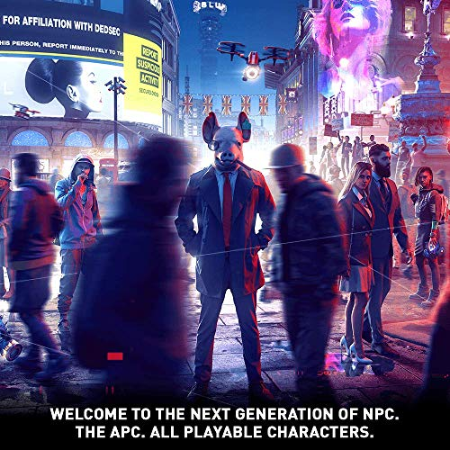 61Yl1ACTUXL - Watch Dogs Legion - PlayStation 4 Standard Edition