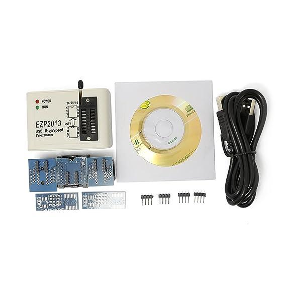 Último programador de alta velocidad USB Bios EZP2013 24, 25, 26 y 93, no EZP2010 (con 4 enchufes), de Q-BAIHE.: Amazon.es: Electrónica