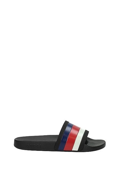 Zapatillas y Zuecos Gucci Hombre - Caucho (308234GIB10) EU: Amazon.es: Zapatos y complementos