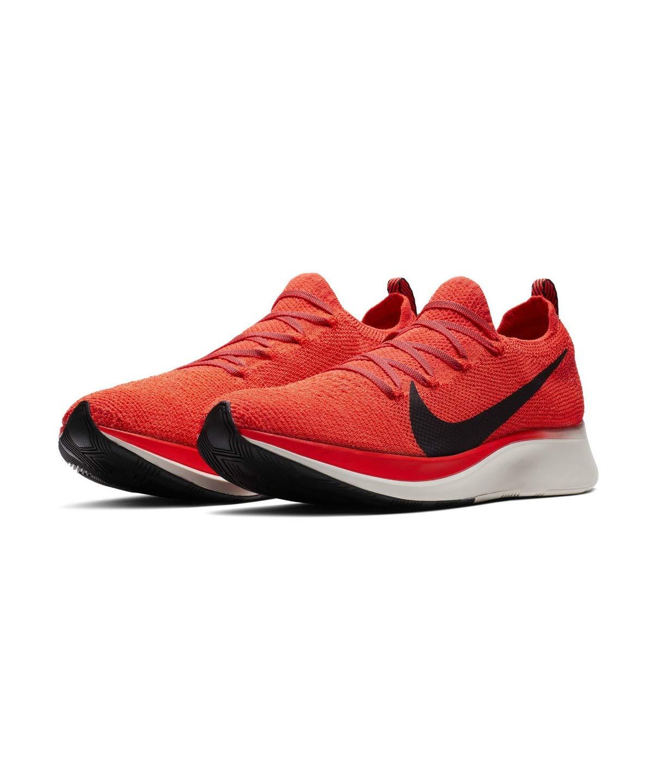 Nike Zoom Fly Flyknit Men's Running Shoe Bright Crimson/Black-Total Crimson Size 7.5