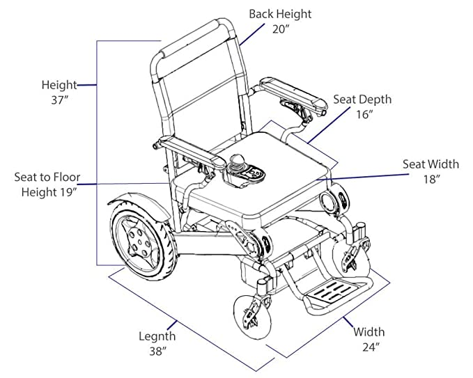 Easyfold Portable Power Wheelchair