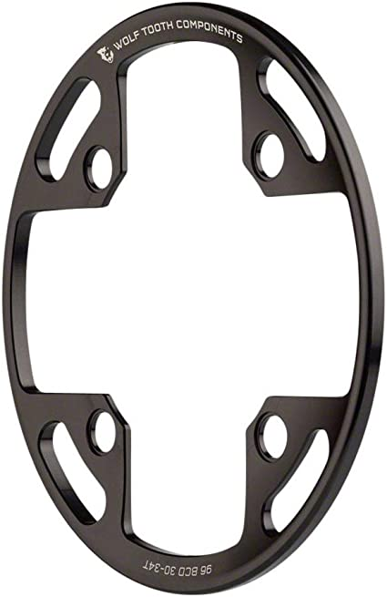 Wolf Tooth Components Drop-Stop Chainring 32T x 96 BCD Shimano Symmetric