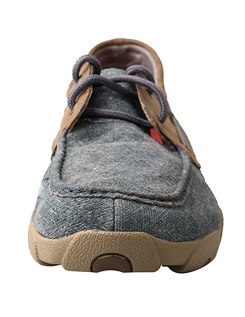 Twisted X Mens Driving Moccasins Size: 11 Color: Jeans//Bomber Mdm0 Width: M