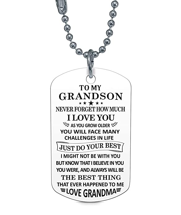 Amazon.com: Stashix To My Grandson Never Forget How Much ...