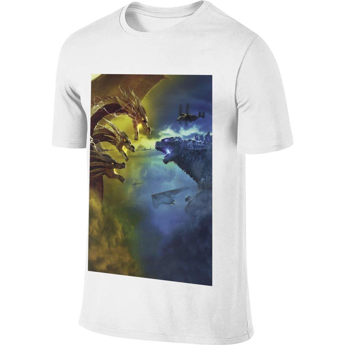 S Customized Cool Godzilla War King Ghidorah Shirts