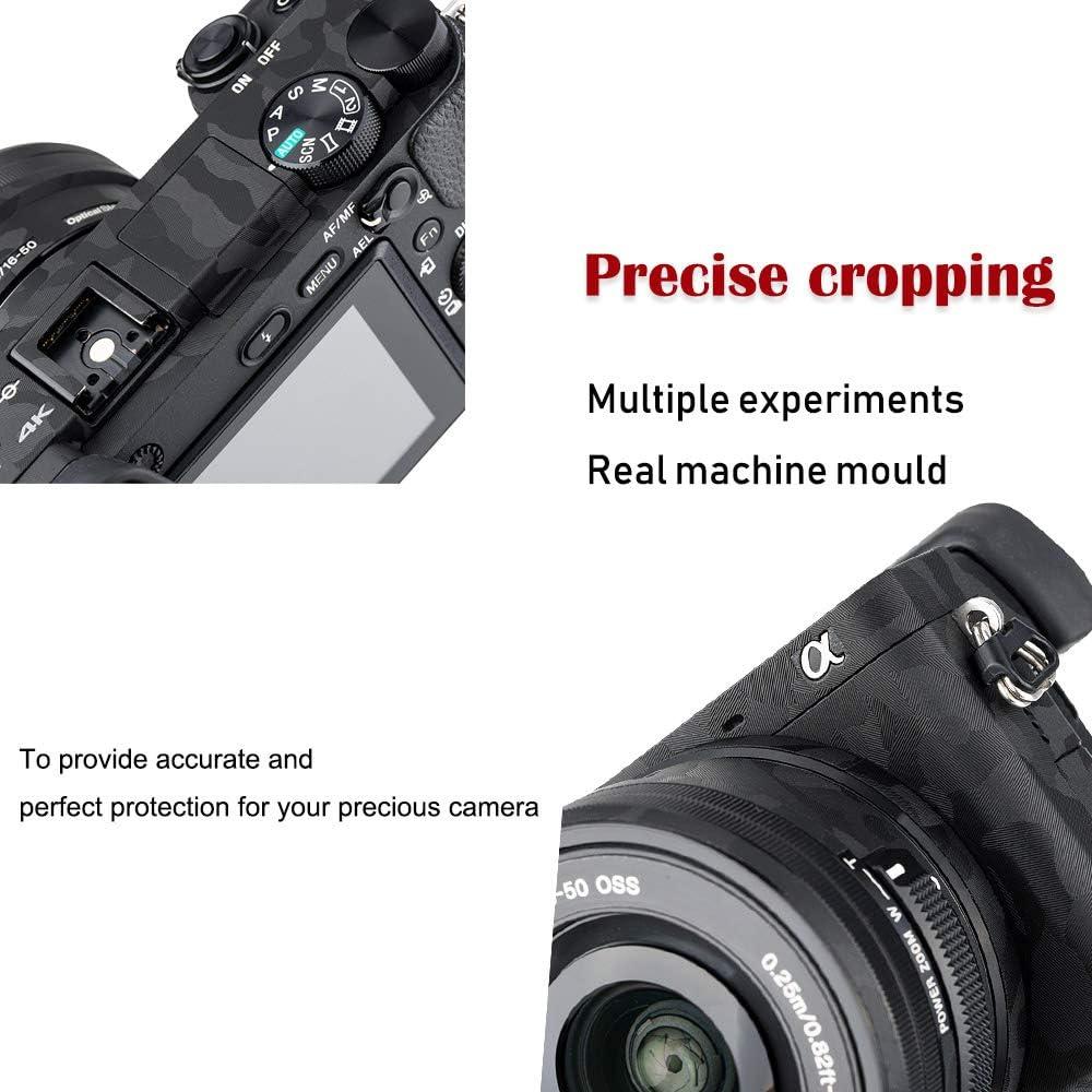 RX100 VA Camera Body Skin Sticker Protective Film for Sony RX100 V RX100 III DSLR Camera Anti-Scratch 3M Stickers Body Wrap Cover Screen Protector
