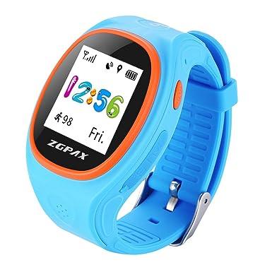 s866 a Kid Tarjeta SIM reloj inteligente de seguimiento de posicionamiento GPS SOS con libras niño
