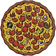 Stellar Factory Pizza Puzzles, Pepperoni, 550 Pieces Jigsaw Puzzle