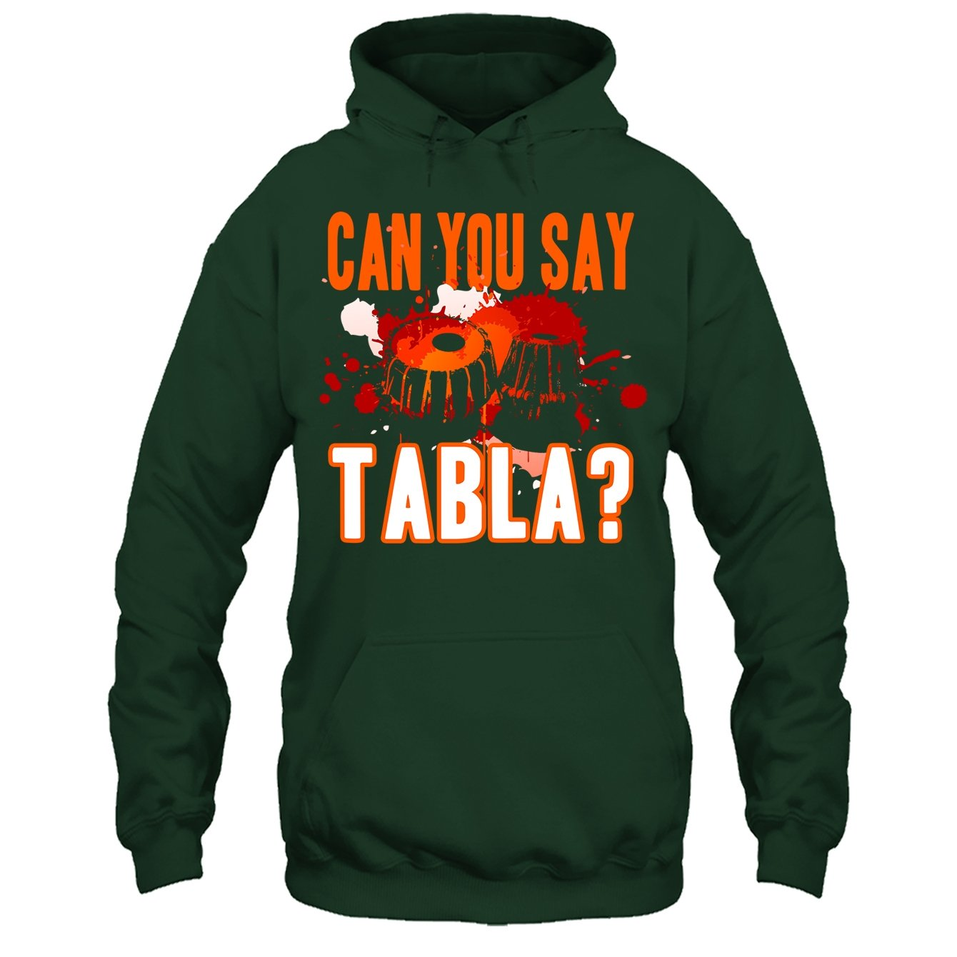 Addblue Tabla Cool Tee Shirt Can You Say Tabla Tshirt