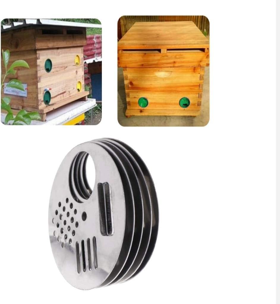 Diameter: 6.8CM - Beekeeping Equipment Beehive Tool Beekeeper Tool Amuzocity 10PCS Bee Hive Nuc Box Entrance Gates Entrance Disc