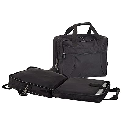 "15"" Scan Express Compcase Briefcase, Black"