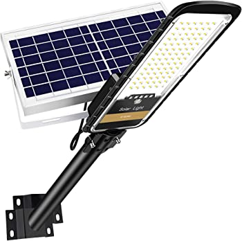 RuoKid 80W Solar Street Lights Outdoor Lamp