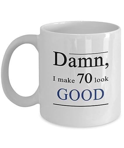 Amazon 70 Birthday Mug