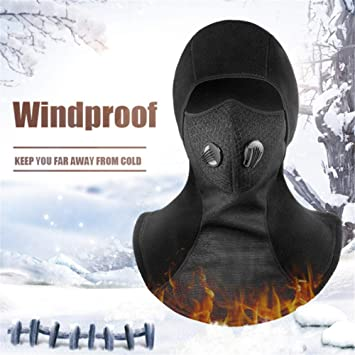 Amazon.com: Men Winter Balaclava Face Mask Cold Weather ...