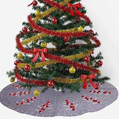 Manyo. Cache Pie Árbol de Navidad, falda árbol de Navidad, color ...