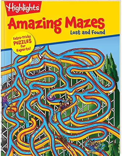 Highlights Amazing Mazes 2-Book Set For Kids - Expert