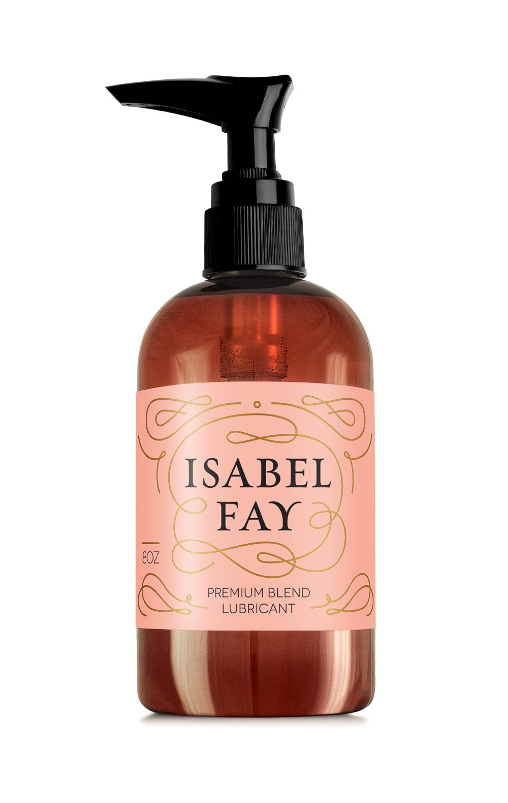 Long Lasting Water Based Hybrid Personal Lubricant for Sensitive Skin - 8 oz - Isabel Fay - Sex Lube for Women and Men - Sex Gel That Provides Long Lasting Lubrication