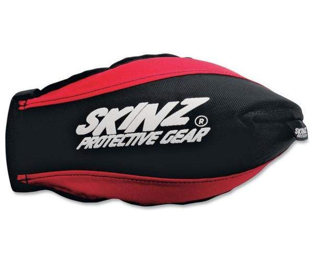 Skinz Protective Gear Pro-Series Handguards - Black/Red HGP100-BK/RD TRTB7478