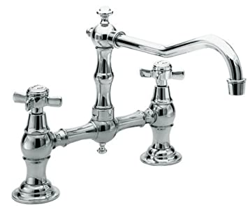 Newport Brass 945 26 940 Series Two Hole Kitchen Faucet Polished