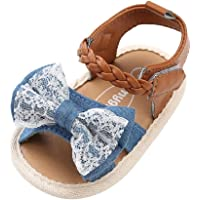 Sandalias de Bebé Niña para 0 a 18 meses, Zapatos de Verano para Bebé con Suela Suave Antideslizante, Primeros Paso…