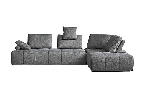 Muebletmoi - Sofá de Esquina modulable Izquierda/Derecha ...