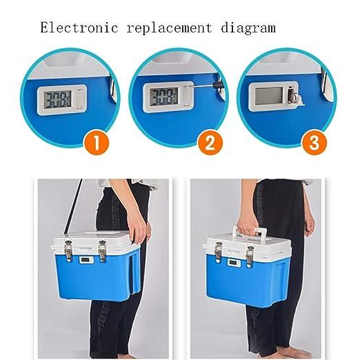 JJSFJH Refrigeración Caja de Doble Uso Almacenamiento Caja de ...
