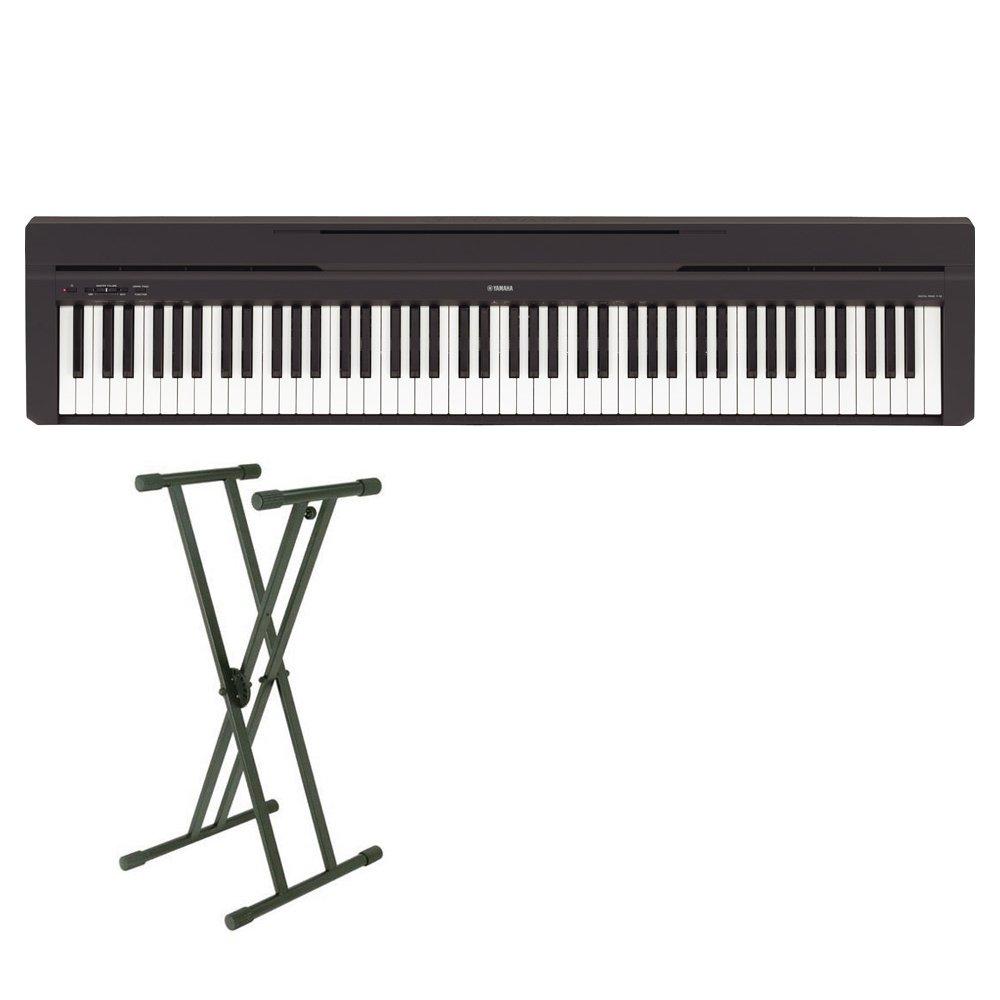 【期間限定特価】 YAMAHA P-45B YAMAHA& (ヤマハ X型スタンドセット 電子ピアノ 88鍵盤 (ヤマハ P-45B P45) オンラインストア限定B01K9H669W, ベックス タイム:dc5e7324 --- a0267596.xsph.ru