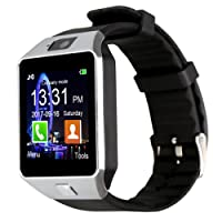Padgene DZ09 Smart Watch Bluetooth Camera Smart Wrist Watch Phone with SIM Card Slot 2.0 Camera TF Card Support Android Samsung Htc LG Sony Blackberry Huawei Smartphone-Best Gifts