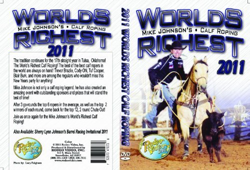 World's Richest Calf Roping 2011 - DVD (Calf Roping Videos)