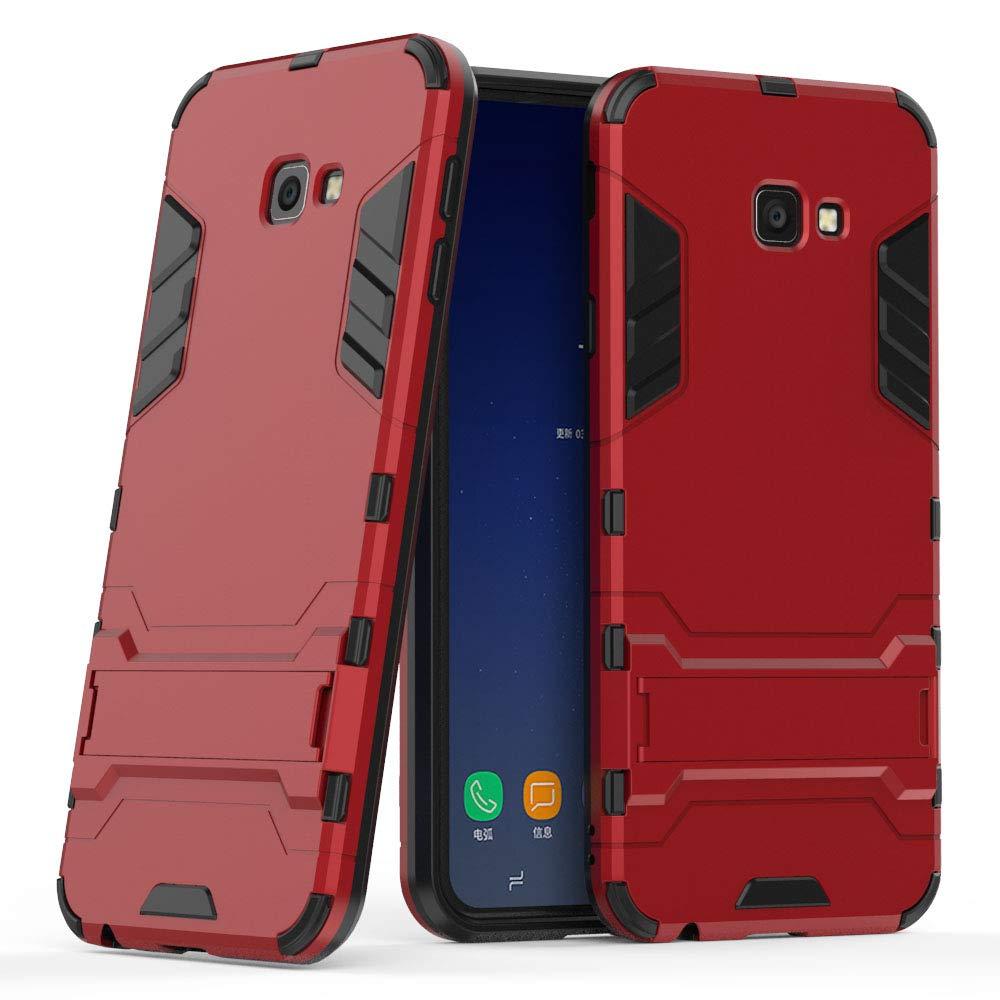 Amazon.com: Samsung Galaxy J4 Plus Hybrid Case, Galaxy J4 ...