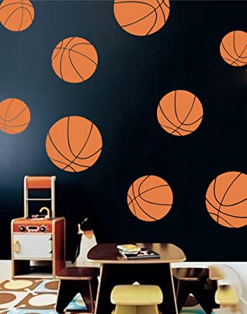 Genial Boys Room Basketball Wall Decals   Room Decor For Kids Removable Sports  Stickers [Set Of