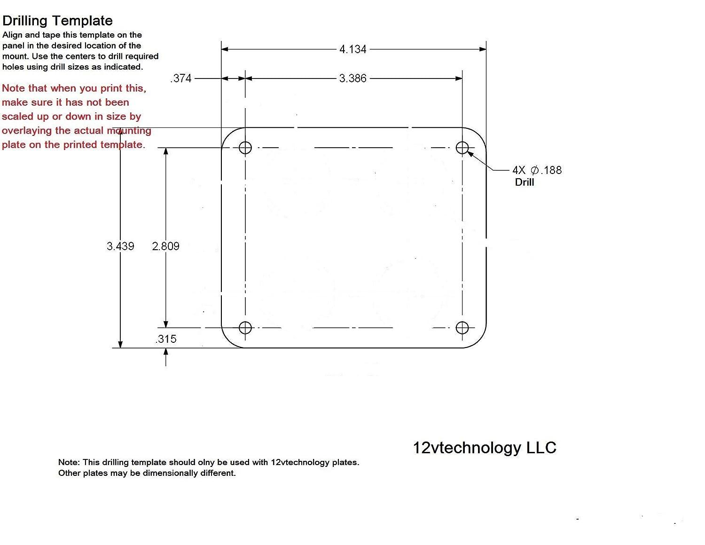 Battery Bank Monitor Minder With Low Voltage Discharge Mercmonitor Wiring Diagram Alarm 12 Volt Marine Rv Btm3 Everything Else