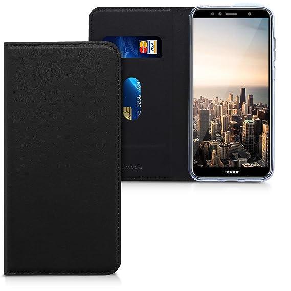 pretty nice e7448 1838c Amazon.com: kwmobile Flip Case for Huawei Honor 7A - Smooth PU ...
