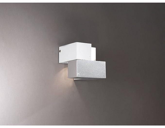 La lampada cubic woodlampada a parete applique a led moderna in
