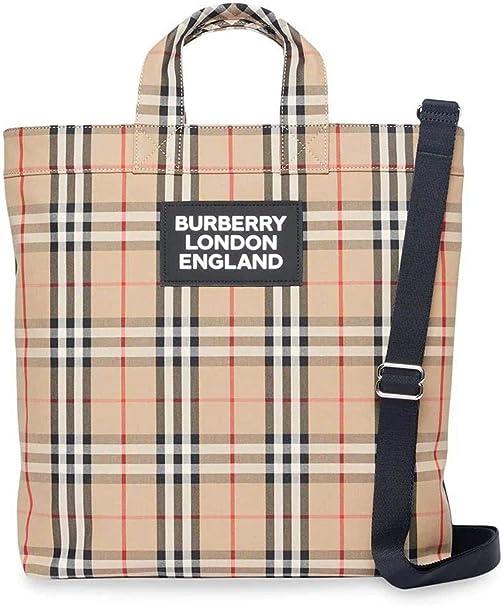 Borse Da Uomo Burberry.Burberry Luxury Fashion Uomo 8017740 Beige Borsa Da Lavoro Burberry Amazon It Abbigliamento